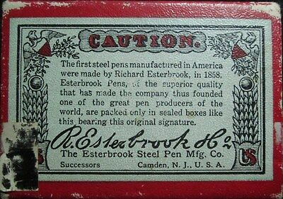 12x Vintage R. Esterbrook Co. OVAL POINT 788 USA  Pen Dip Nibs Antiques Fountain