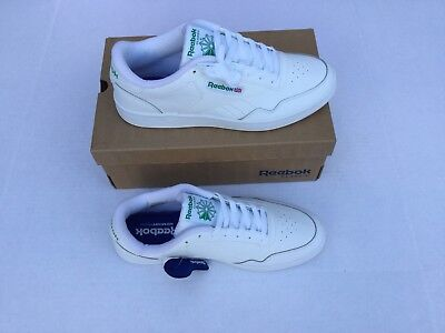 5cc513b08b6a ... size 7 3291b 8a486 Reebok Mens Club Memt WhiteGlen Green Sneaker Shoes  Size 10 NEW ...