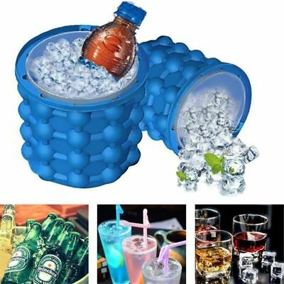 Magic ICE CUBE Maker Bucket Silicone Genie Revolutionary Kitchen Tool Space 1pcs
