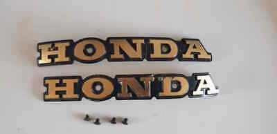 Honda Cb750 Four K7/k8 Original Used Gas Tank Emblem (Free Shipping)
