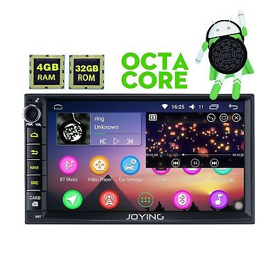 7 Zoll Multi-touch Screen Android 8.0 Double 2din AM/FM Radio DVD Player 4GB RAM