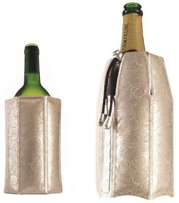 2 PK Vacu Vin Active Wine and Champagne Rapid Ice Cooler Set – Platinum Party