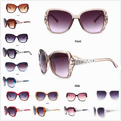 Oversized Vintage Sunglasses Shades Retro Glasses Womens Eyewear oval Designer