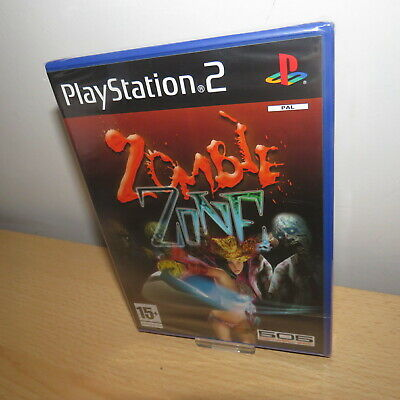 Zombie Zone - Sony Ps2 Playstation 2 - New Sealed - Pal Version