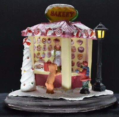 Christmas Scene Bakery
