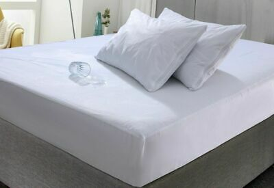 """Terry Towel Waterproof Protector Cover Sheet Bed / Mattress Microfiber Topper 4"""""""