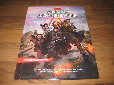 D&D 5th Edition Dungeons & Dragons Sword Coast Adventure Guide Neu New HC