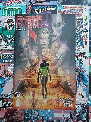 CYBER FORCE #1 COVER A SILVESTRI IMAGE comic 2018 1ST PRINT New bagged & boarded