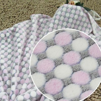 Pet Dog Puppy Dots Printed Bed Mat Warm Cozy Pet Sleeping Cushion Cover