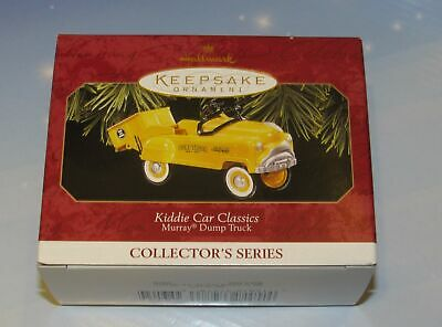 Hallmark Keepsake Ornament 1997 Kiddie Car Classics Murray Dump Truck NIB