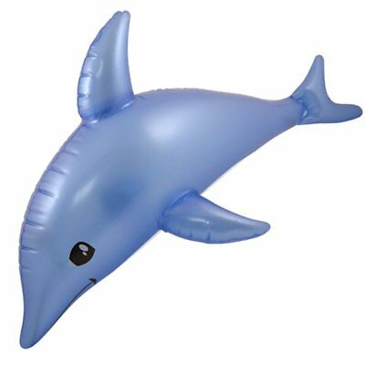Aufblasbarer Delphin 53 cm Sommer Delfin Beach Strand Hawaii Deko Motto Party