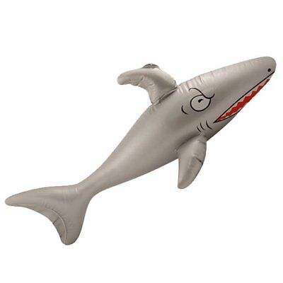 Aufblasbarer Shark 90 cm Hai Sommer Fisch Beach Strand Hawaii Deko Motto Party