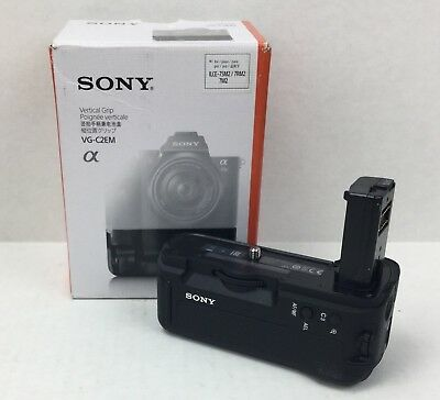 Sony VG-C2EM Vertical Battery Grip for Alpha a7 II, a7R II, a7S II Brand New