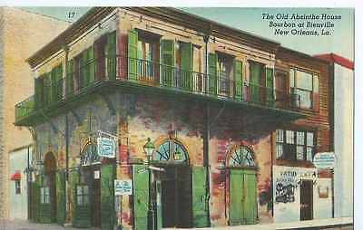 New Orleans, LA, Old Absinthe House, at Bourbon & Bienville, Unposted- Postcard