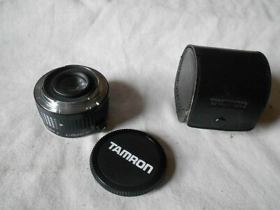 Tamron SP BBAR MC 2x Teleconverter F System for Pentax-K PK Mount -1 Cap + Case.