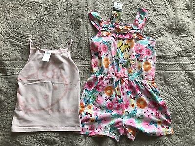 Girls Playsuit Tinkerbell 4-5 Years
