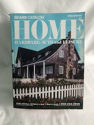 SEARS HOME CATALOG ~ SPRING 1990 ~ HARDWARE, AUTO and LEISURE