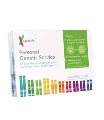 Personal Genetic Service test 23andme dna ancestry saliva kit family health home