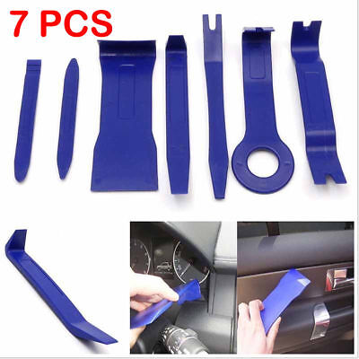 7 Piece NEW Car Door Plastic Trim Panel Dash Installation Removal Pry Tool Kit