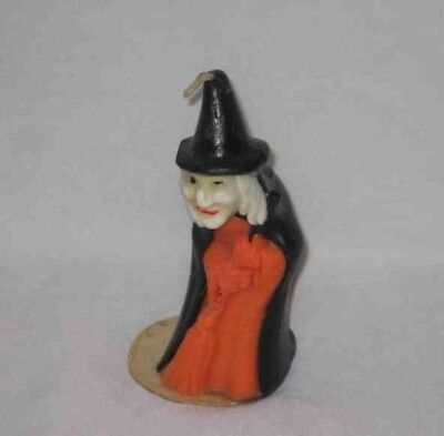 """Great Vintage 5"""" Gurley Halloween WITCH Candle"""