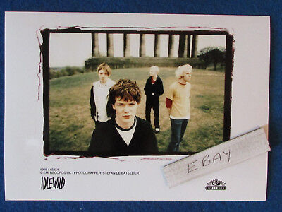 "Original Press Photo - 7""x5"" - Idlewild - 1998 - A"