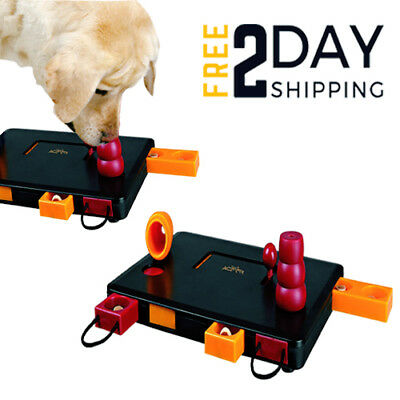 Cat Dog Flip Board Activity Toy Interactive Treat Brain Puzzle Training Dog Toys