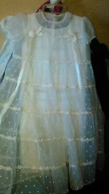 REDUCED! Antique Christening  or Baby Gown! 2 Piece!