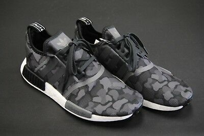 7cc5f62b5 [D96616] New Men's Adidas Originals Nmd_R1 Duck Camo Pack Black Grey Adm263
