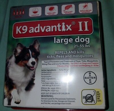 K9 advantix ii for small med or lg breed dogs