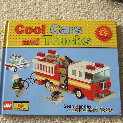 Lego Cool Cars and trucks BOOK for model building h/cover