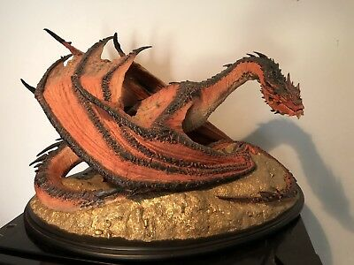 WETA 1/72 The Hobbit SMAUG THE TERRIBLE Limited Edition Statue Low Number!