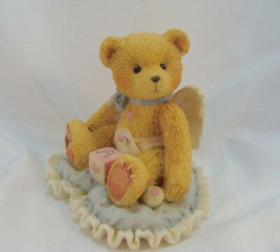 Cherished Teddies  ~  LITTLE BUNDLE OF JOY ... Boy On Heart *  NEW From Our Shop