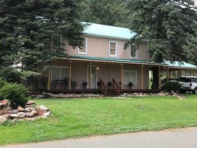 Historic home in Ruidoso, NM: 3 BR, 2 Ba; 2-story; two kitchens, 2 living areas!