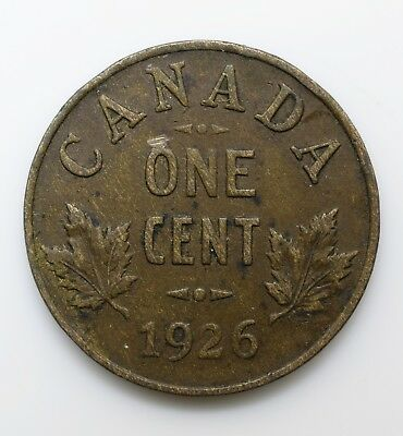 1926 Canada One - George V small cent - Lot 187
