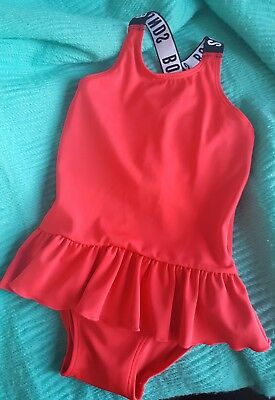 Bonds Toddler Swim Red size 1 ballet  UPF50+ New without tags Girls