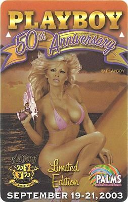 Las Vegas Palms Casino Playboy 50th Anniversary - Room Key #3