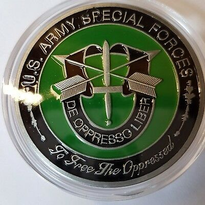 US Army Special Forces Challenge Coin