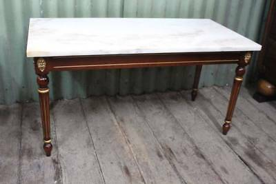 A Regency Marble Top Coffee Table - Matching Side Tables in other Listing