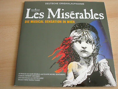 Les Miserables - Deutsche Originalaufnahme - Polydor 837 770-1 - 2 LP Near Mint