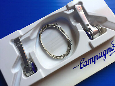 SHIFTERS CAMPAGNOLO KIT SYNCRO 8 speed NEW RECORD NOS NUOVO MINT shifting levers