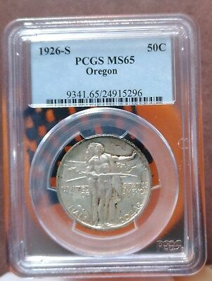 1926-S Oregon Commemorative Half Dollar PCGS MS-65