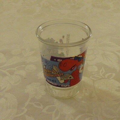Adventures Of Rocky & Bullwinkle # 6 Collectible Bama Jelly Glass