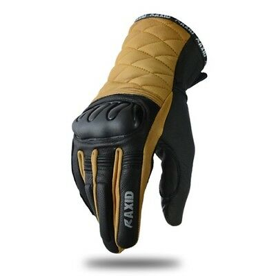 Motorcycle Gloves Genuine  Top Grain Leather Urban Raxid Stylish Brown Sale