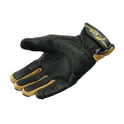 New Motorbike Gloves Genuine  Top Grain Leather Urban Raxid Stylish Brown Offer