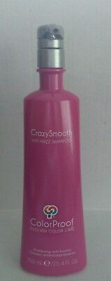 ColorProof CrazySmooth Anti Frizz Shampoo 25.4-New-Free Shipping