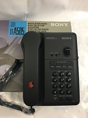 Sony IT-A505 Telephone With Answering Machine