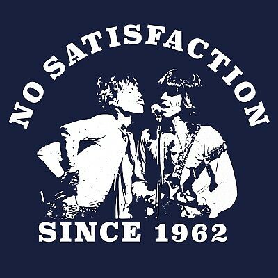Mick Jagger Keith Richards The Rolling Stones inspired T Shirt No Satisfaction!