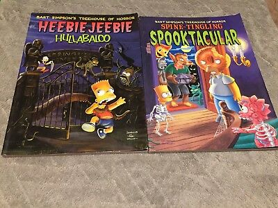 Retro The Simpsons Treehouse Of Horror Books Collectibles