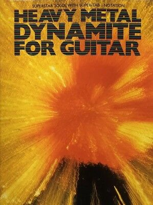 Heavy Metal Dynamite For Guitar Book With Tablature