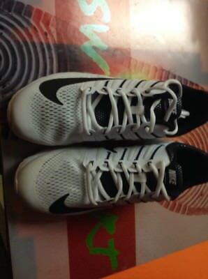 f6e499bd8ea Nike Air Max Excellerate 4 Running Shoes White Black 806770-101  130 New Sz  11.5